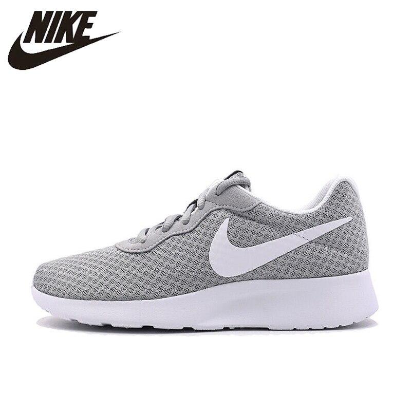 premium selection 2b2f3 65715 NIKE Tanjun Men s Running Shoes 39-45 Roshe Run Gray Sneakers Outdoor  Walkng Jogging