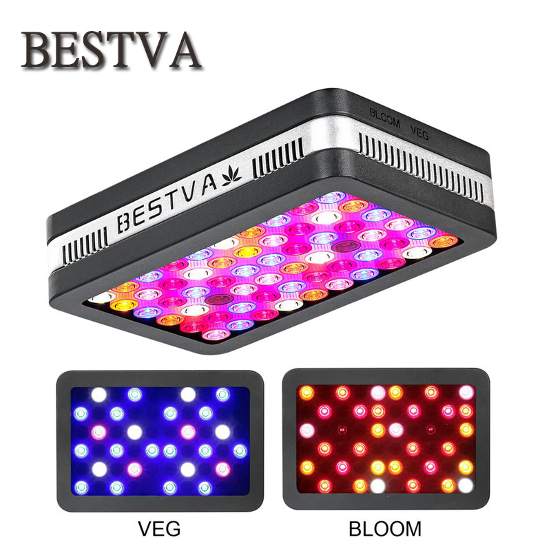 BestVA LED grow light Elite600W 1200W 2000W Full Spectrum for Indoor Greenhouse grow tent plants grow led light Veg Bloom mode best led grow light 600w 1000w full spectrum for indoor aquario hydroponic plants veg and bloom led grow light high yield