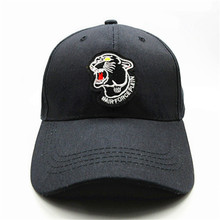 Leopardo negro bordado de algodón Gorra de Béisbol hip-hop cap Snapback  Ajustable Sombreros para 444add7d353