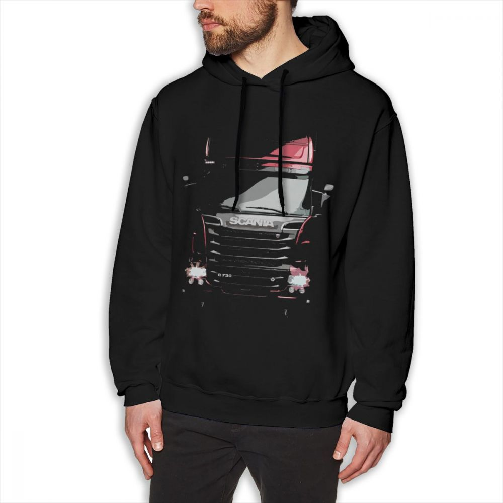 Scania Trucker SCANIA Saab Car Hoodies Men Summer sweatshirt Pure Cotton