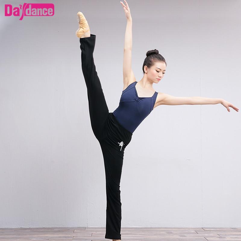 casual-black-cotton-spandex-dance-pants-yoga-fitness-gymnastics-font-b-ballet-b-font-pants-for-women
