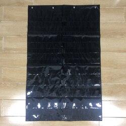 10 Giant Zak Grafiek Thuis Ruimtebesparend Transparante Standaard Leren Middelen Scheduling Insteekkaart Organisatie Klaslokaal