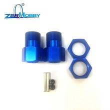 HSP RACING RC CAR SPARE PARTS WHEEL MOUNT NUT SHAFT FOR 1/5 OFF ROAD BUGGY AND MONSTER 94059, 94050 (PART NO. 50025)