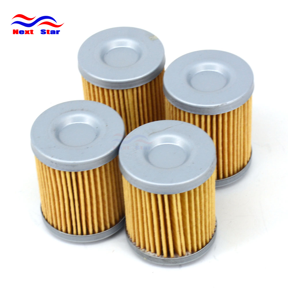 4 шт. масляный фильтр двигателя очиститель для KTM ATV XC450 XC525 08-11 EXC SX MXC кроме SMR SXS SXC SMC DUKE Enduro 400 450 520 660 690