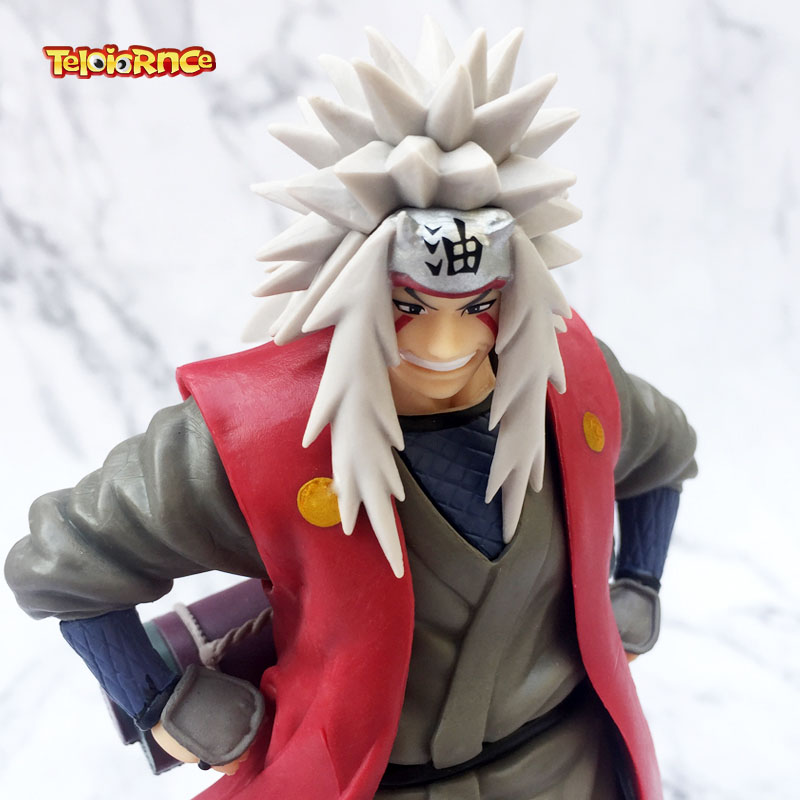 Anime Naruto Shippuden Jiraiya Figure 19CM Toy New no Box