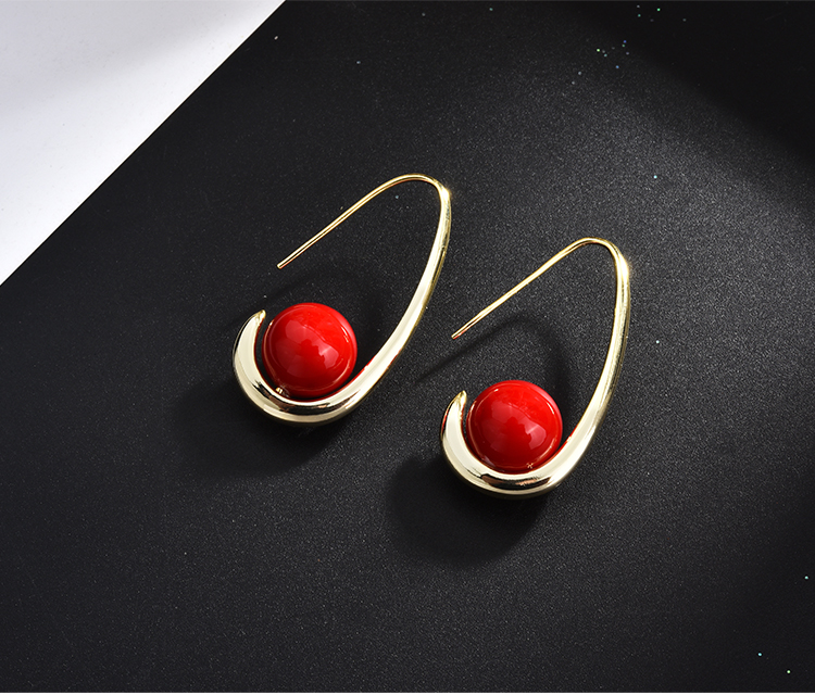 fashion pearl gold stud drop earrings 01 (16)