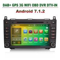 8 Android 7 1 Car Dvd Autoradio GPS DAB DVR Navi For Mercedes A Class W169