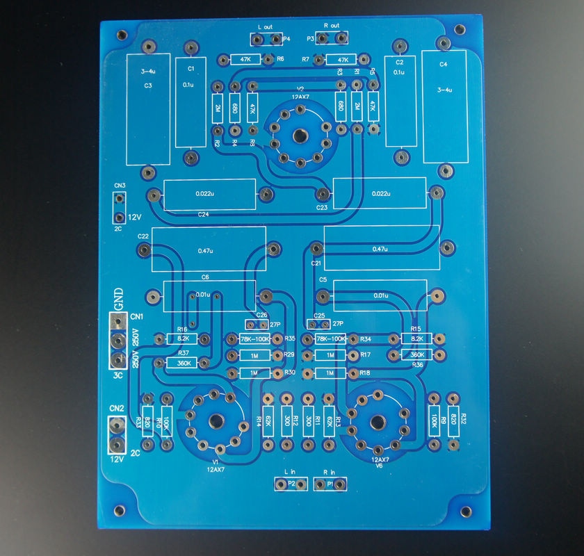 Circuits Lite Ls29 Pcb Tube Buffer Preamplifier Board Pcb Based On Musical Fidelity X10-d Pre-amp Circuit