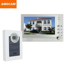 7″ Color monitor Video Door Phone Intercom Doorbell system Night Vision camera video Doorbell Interphone System