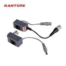 Высокое качество! 10 пар/упаковка CCTV RJ45 UTP видео компенсационный трансивер, GPS трекер с длительным временем автономной работы Мощность для системы видеонаблюдения