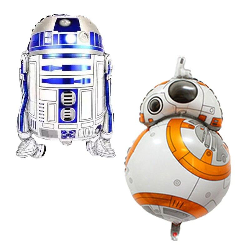 Воздушные шары из фольги для роботов, надувные игрушки, Гелиевый шар, Детские классические игрушки, воздушные шары с днем рождения, вечерние...