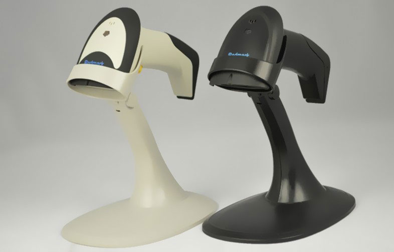цена на Laser barcode scanner Self-sensing barcode reader Automatic barcode scanner Automatic induction scanner with stand