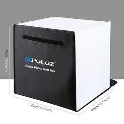 High Quality PULUZ 40 x 40cm Photo Studio Box Foldable Photograghy Studio Shooting Soft Box Kits