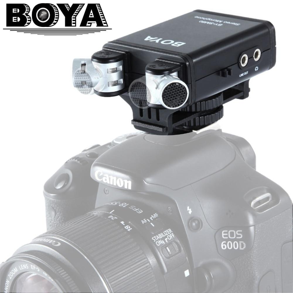 BOYA BY-SM80 PassFilter Stereo kaameramikrofon reaalajas - Kaasaskantav audio ja video - Foto 1