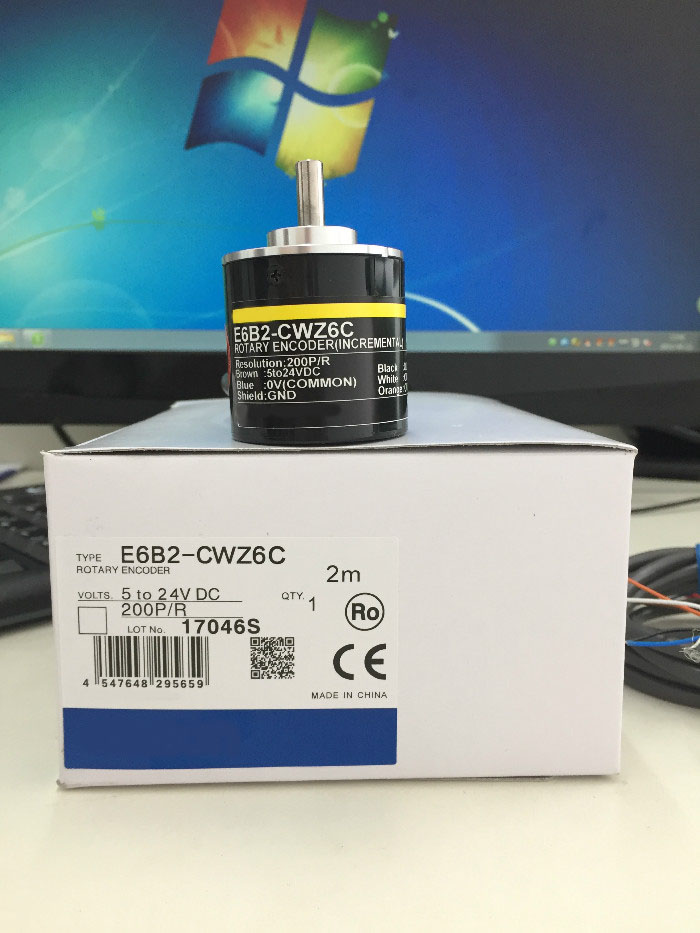 Provide optical encoder E6B2-CWZ6C 200P/R [vk] encoders speed position encoder pulse encoder e6b2 cwz6c 600p r
