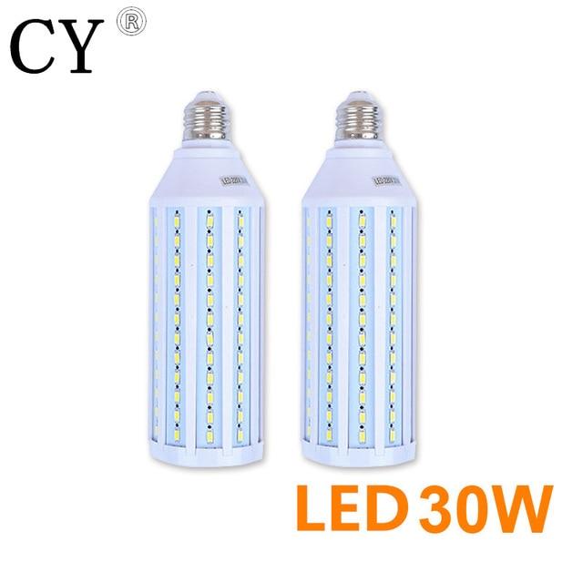 LightupFoto 2pcs 30W 220v LED Corn Bulb & Tubes kit E27 5730 SMD Photo Studio Bulb Photographic Lighting