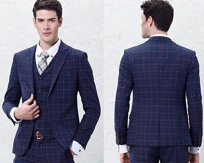 Customize Suit Business England Tailored Suits Black Suit