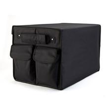 Caja organizador del tronco de coche plegable bolsa de almacenamiento negro oxford organizador de accesorios de automóviles coche estiba ordenar bolsas plegables
