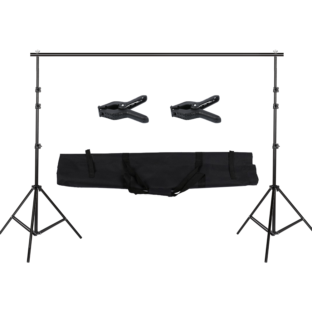 Photographie 2.6x3 m Photo Studio toile de fond Support Support Kit - 2