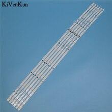 9 Lamps LED Backlight Strip For Samsung UE48H6640SL UE48H6600SV UE48H6620SV UE48H6590SV UE48H6505ST Bars Kit Television LED Band