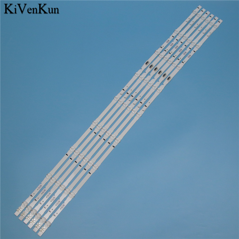 9 lâmpadas led backlight strip para samsung ue48h6640sl ue48h6600sv ue48h6620sv ue48h6590sv ue48h6505st barras kit televisão led banda