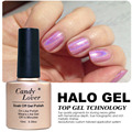 Candy Lover Holographic Halo Nail Polish High Quality Soak Off Gel LED UV Gel Nail Polish 10ml Long-Lasting Up To 30 days