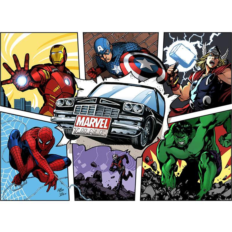 Takara Tomy Tomica Metal Diecast Vehicles Toy Cars Spiderman/Hulk/Ironman/Bullet Shot/Captain America Various Types New