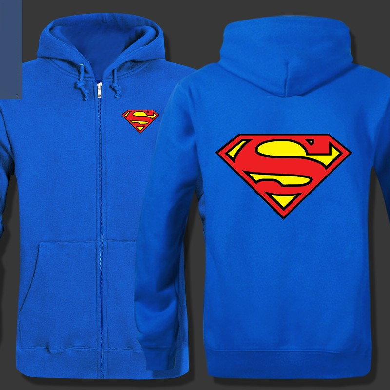 Girls superman hoodie