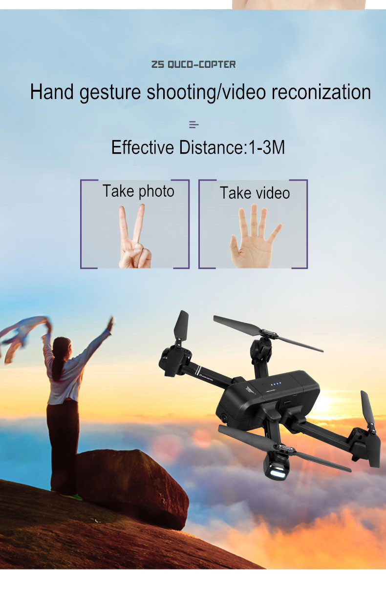 SJ Z5 Drone with Camera 1080P GPS Drone Dron 2.4G/5G RC Helicopter Quadrocopter with Camera Follow Me RC Quadcopter vs XS812 F11 5