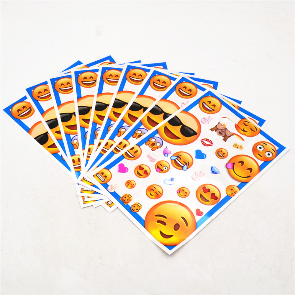 10pcs Smiley Face Gift Bags Kids Birthday Party Hat For Children Carnival Party Favors Candy Sweety Bags Decoration Small Bags