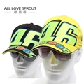 Wholesale 2016 Cotton Sports Rossi VR 46 Caps MOTOGP Racing Motorcycle Baseball Car Visors Sun Hats Casquette