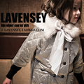 Lavensey British Style Casual Girls Jacket High End Brand Girl Coat Gray Green Plaid Children Clothing Woolen Kids Clothes