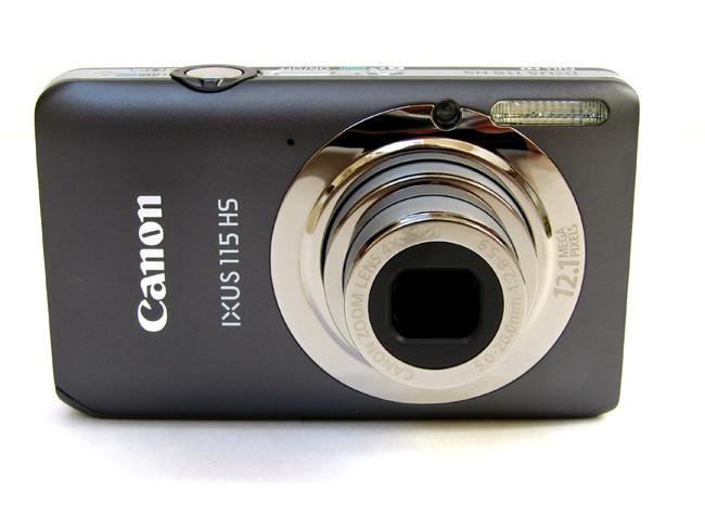 Cámara Digital usada, Canon 115 HS (12.1MP, 4x Zoom óptico) 3,0 pulgadas LCD cámara de viaje Regalo Idea mesilla de noche despertador Digital con termómetro higrómetro humedad temperatura reloj de mesa escritorio cargador de teléfono