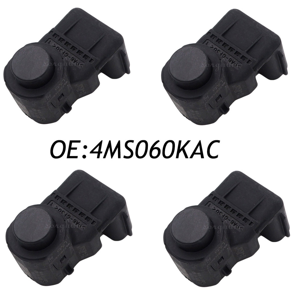 4PCS 4MS060KAC font b Parking b font font b Sensor b font PDC Automobile Back A