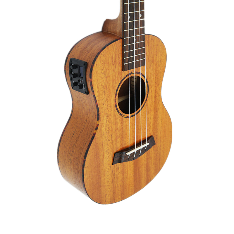 Afanti  Music 23 inch Electric Guitar / Mahogany / 23 inch Ukulele (DGA-140) 13 inch double tone afanti music snare drum sna 109 13