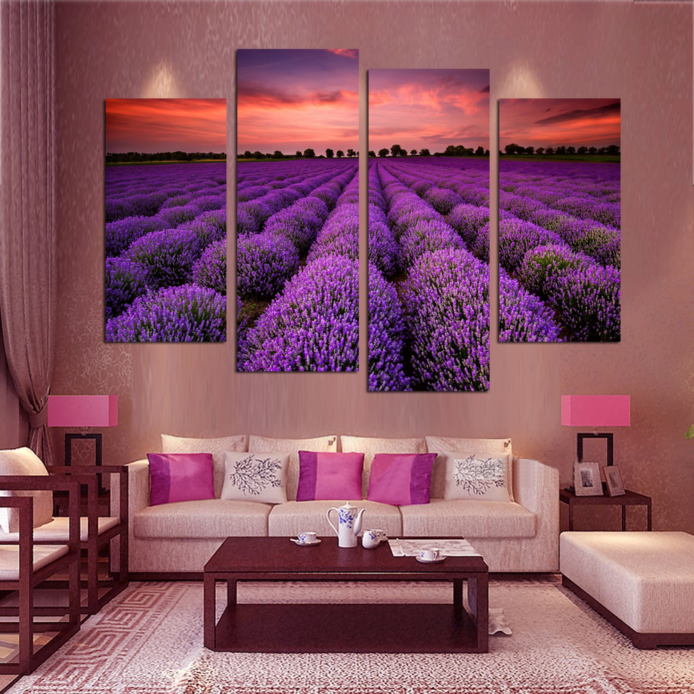 Living Room Artwork Compare Prices On Lavender Artwork Online Shopping Buy Low Price