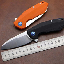 NEW ZT0456 Rexford D2 blade G10 handle two color Flipper bearing knife outdoor pocket EDC knife Survival camping hunting tool