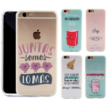 Newest Phone Bag Case Mr Wonderful Funny Transparent tpu Case For iPhone 5s 5 SE 6 6s Plus 7 7Plus Cover Cute Series Capa Fundas