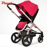 Чехол ребенка тележка громких Детские коляски может быть лежащего Детские коляски Детская тележки портативный зонтик E89