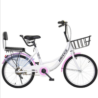 Bicycles are unisex 20 inches Adult students Manned bicycle Fashionable and durabl