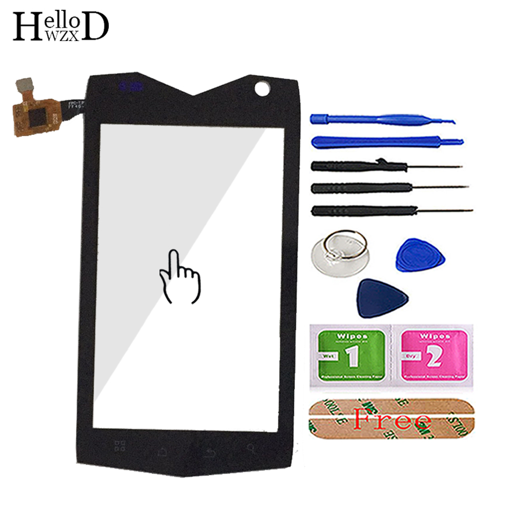 4.0'' Mobile Phone Touch Glass For Mann ZUG3 ZU G3 ZUG 3 A18 Ip68 Touch Screen Glass Digitizer Panel Tools Sensor Free Adhesive