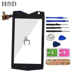Image 1 - 4.0 téléphone portable tactile verre pour Mann ZUG3 ZU G3 ZUG 3 A18 ip68 écran tactile verre numériseur panneau outils capteur adhésif gratuit