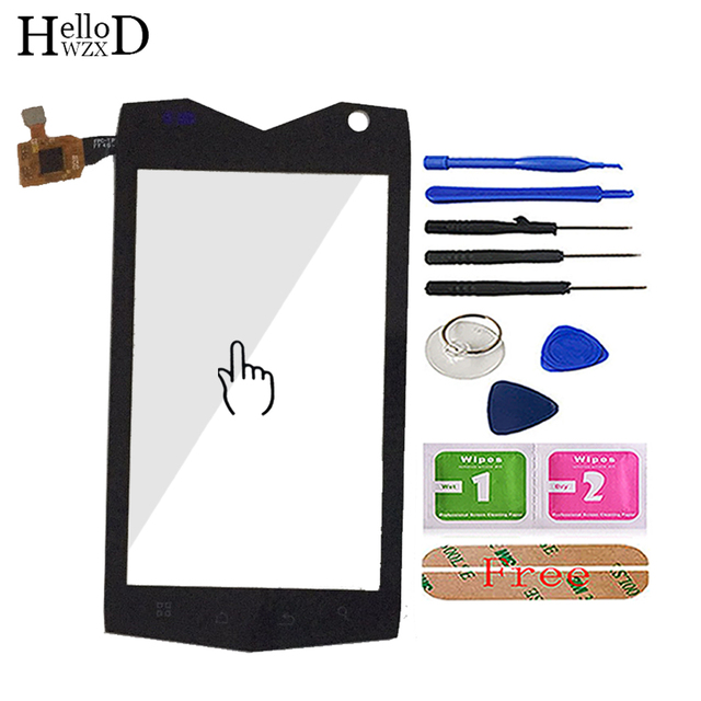 4.0 telefon komórkowy ekran dotykowy szkło Mann ZUG3 ZU G3 ZUG 3 A18 ip68 dotykowy digitalizator do szkła ekranu Panel narzędzia czujnik klej