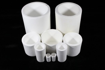 Quartz Sintered Ceramic Crucible D110mm*H140mm/Crucible With Resistance To Sudden Cold And Heat/Crucible For Melting