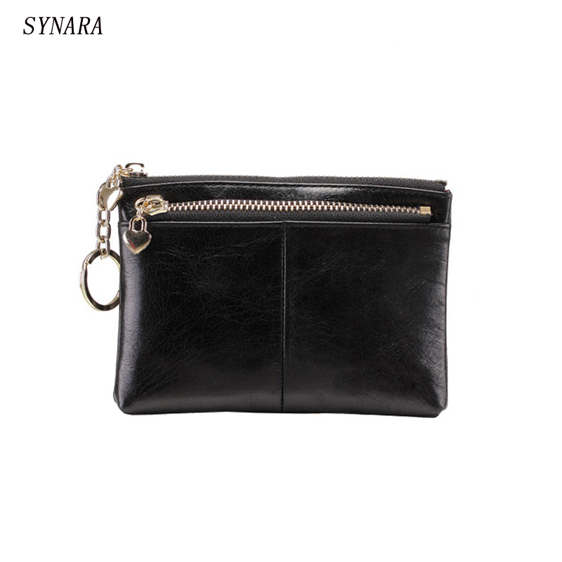 Vintage style women  Genuine Leather Coin Purse Small men's Real Leather Coin Wallet Credit card holder bag can attach to belt brand high quality business genuine leather men wallet credit card holder black real leather vertical purse with coin pocket 50