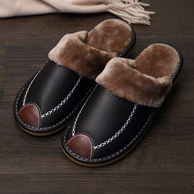 Home Slippers Couples Shoes Lovers Shoes Winter Slippers DB013