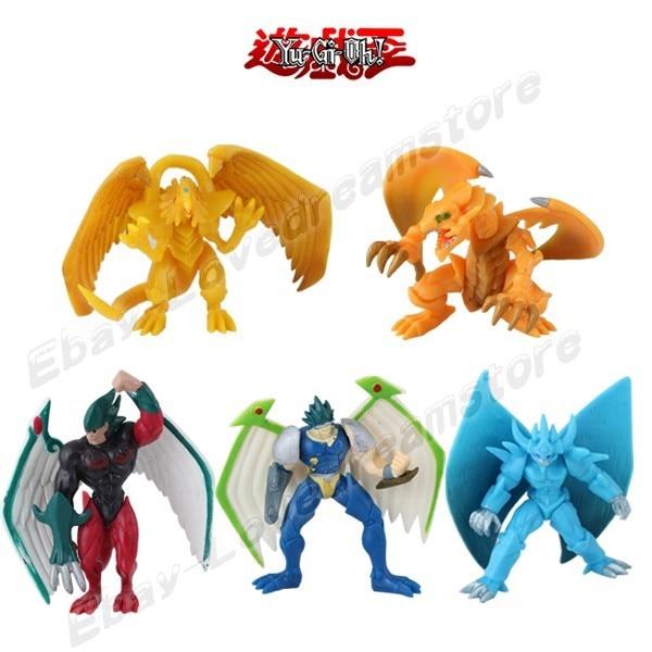 FREE SHIPPING Japanese Animation 5pcs Yu Gi Oh The Winged Dragon Of Ra
