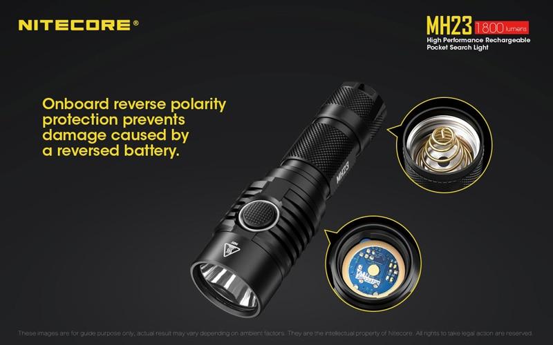 Nitecore MH23 Pocket Search Light (15)
