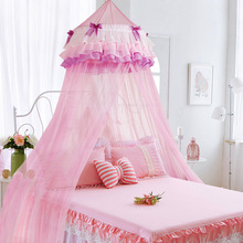 2018 New Children Mosquito Nets Single Double Hang Dome Princess Netting 1.35m/1.5m/1.8m Bed Canopy for Kids Baby Romantic Tents
