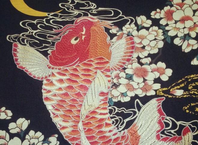 HTB1.t8ALVXXXXc9XFXXq6xXFXXXv - Japan YOKOSUKA embroidery dragon and koi baseball uniform unisex shirt